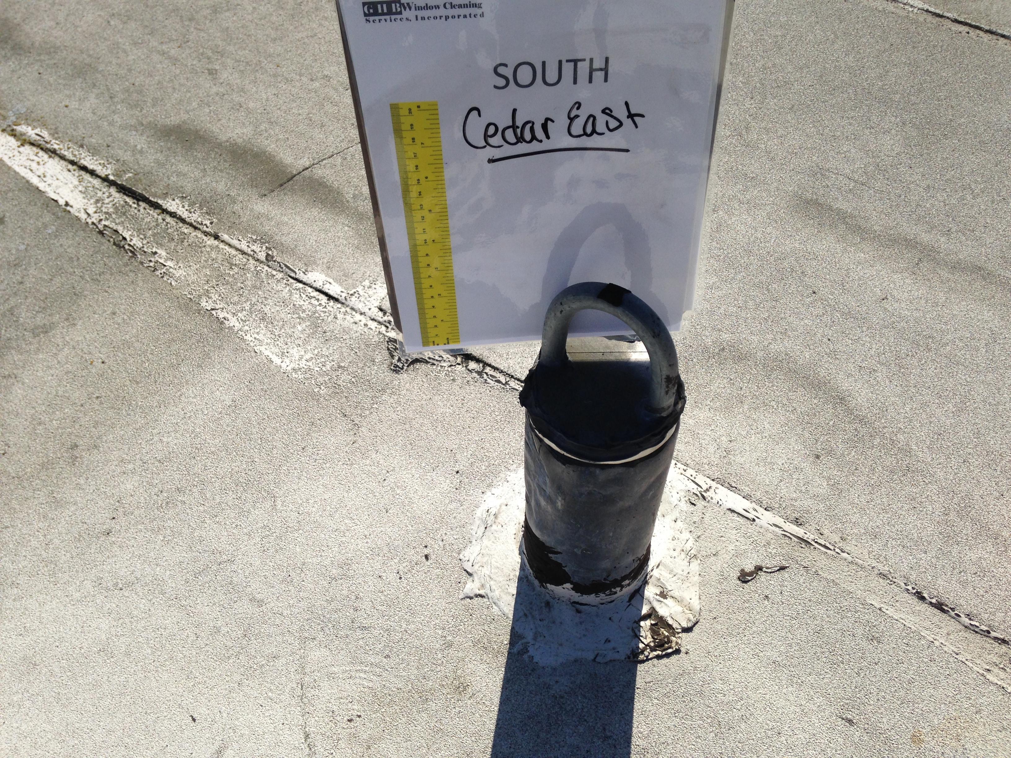 Cedar East Anchor Inpections